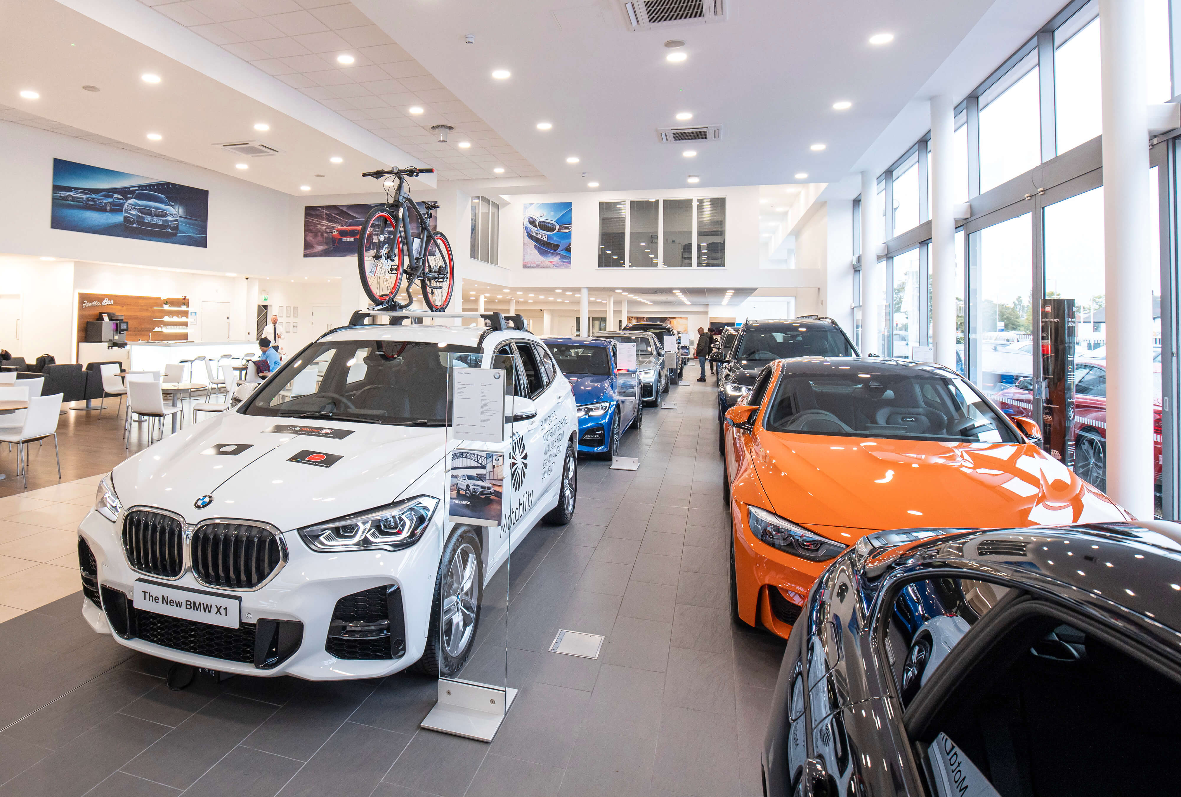 McCarthys Motor Retail fit-out
